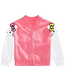 Little Girls Hello Kitty & Mimmy Bomber Jacket