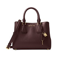 Michael Kors Camille Small Leather Satchel (Multiple Colors)