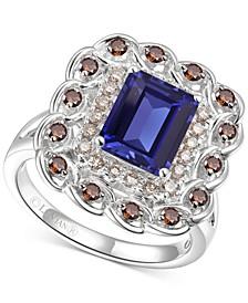 Multi-Gemstone (2-5/8 ct. t.w.) Statement Ring in 14k White Gold