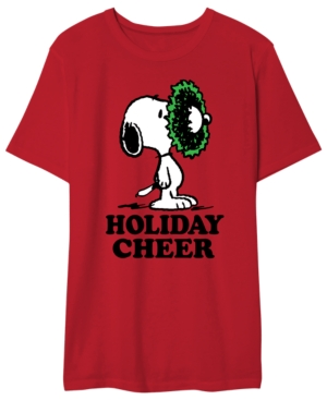 Snoopy Holiday Cheer Men's Graphic T-Shirt