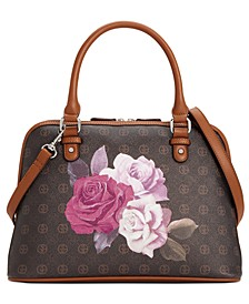 Signature Rose Dome Satchel, Created For Macy's