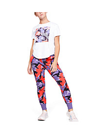 Under Armour Big Girls Rival Printed Joggers