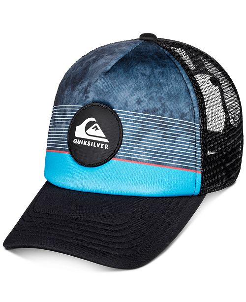 Quiksilver Toddler & Little Boys Striped Colorblocked Trucker Hat
