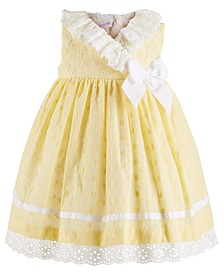 Bonne Baby Baby Girls Eyelet Dress