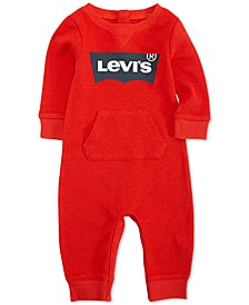 Baby Boys & Girls Waffle Thermal Coverall
