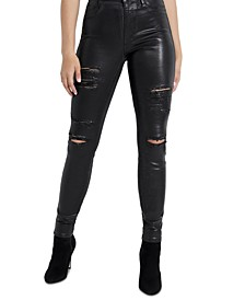 1981 Metallic Skinny Jeans