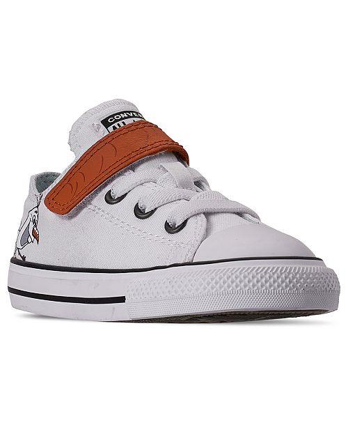 Converse Toddler Girls Disney Frozen 2 x Converse Olaf Chuck Taylor Low Top Stay-Put Closure Casual Sneakers from Finish Line