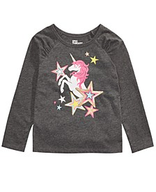 Little Girls Unicorn Star T-Shirt, Created For Macy's