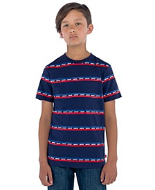 Big Boys Logo Stripe T-Shirt