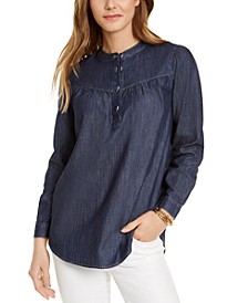 Band-Collar Top