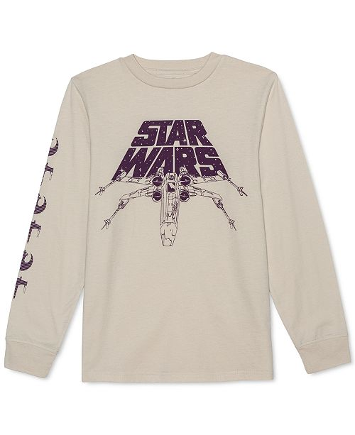 Star Wars Big Boys X-Wing Starfighter T-Shirt