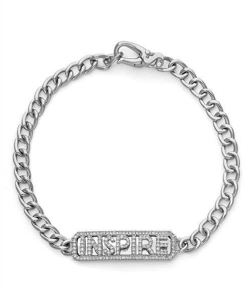 Serena Williams Jewelry Diamond (1/3 ct. t.w.) Inspire ID Bracelet in 14K White Gold