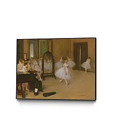 """14"""" x 11"""" The Dancing Class Art Block Framed Canvas"""