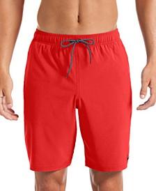 """Men's Contend Water-Repellent Colorblocked 9"""" Swim Trunks"""