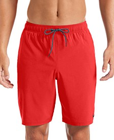 "Men's 6:1 Stripe Breaker Water-Repellent Colorblocked 9"" Swim Trunks"