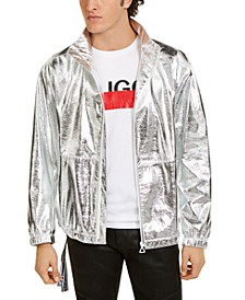 Boss Men's Silver Space Jacket