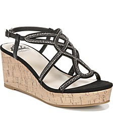 Mimic City Wedge Dress Sandals