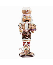 16-Inch Gingerbread Nutcracker