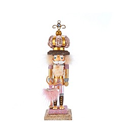 14-Inch Hollywood™ Ballet and Crown Nutcracker