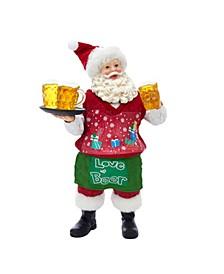 11-Inch Fabriché™ Beer Santa