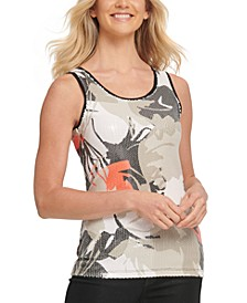 Sequined Tank Top
