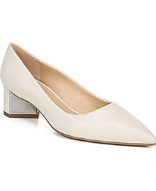 Global Block Heel Pumps