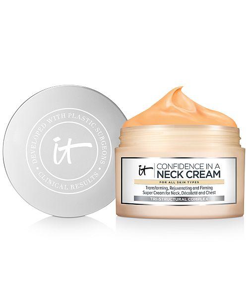 IT Cosmetics Confidence In A Neck Cream, 2.6 fl. oz.