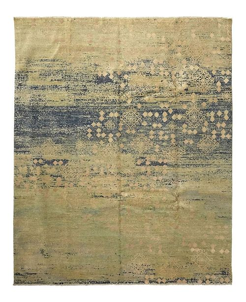"Timeless Rug Designs One of a Kind OOAK942 Flax 8'3"" x 10' Area Rug"