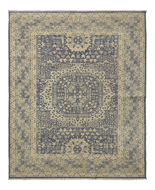 """Timeless Rug Designs CLOSEOUT! One of a Kind OOAK990 Ivory 5'10"""" x 7'10"""" Area Rug"""