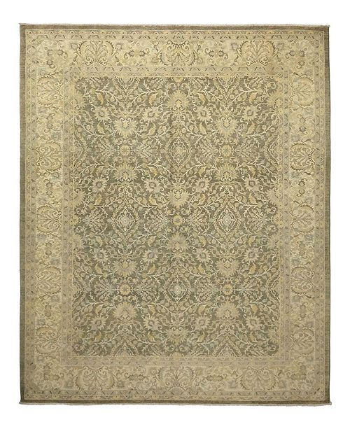 """Timeless Rug Designs CLOSEOUT! One of a Kind OOAK1114 Beige 9'1"""" x 11'10"""" Area Rug"""