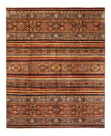 """CLOSEOUT! One of a Kind OOAK1124 Caramel 8'10"""" x 11'9"""" Area Rug"""