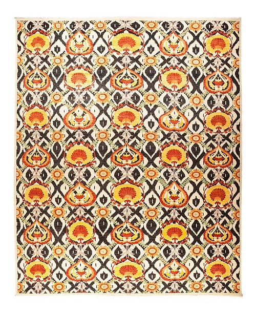 """Timeless Rug Designs CLOSEOUT! One of a Kind OOAK1227 Yellow 12' x 17'1"""" Area Rug"""