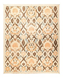"""CLOSEOUT! One of a Kind OOAK1246 Ivory 9' x 11'2"""" Area Rug"""
