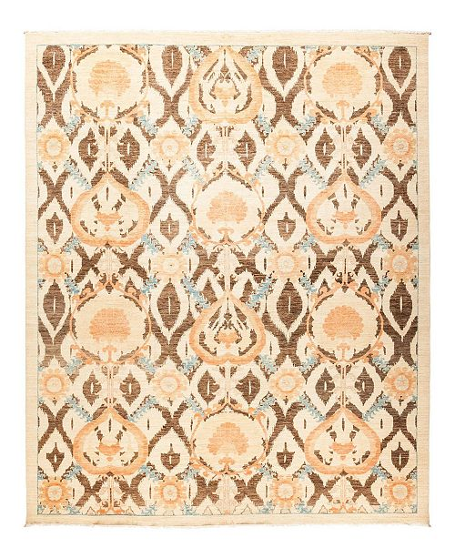 """Timeless Rug Designs CLOSEOUT! One of a Kind OOAK1246 Ivory 9' x 11'2"""" Area Rug"""