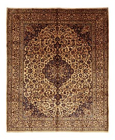 "One of a Kind OOAK1486 Cream 9'9"" x 12'8"" Area Rug"
