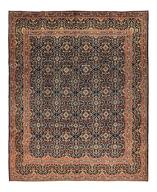 """Timeless Rug Designs CLOSEOUT! One of a Kind OOAK1515 Onyx 9'7"""" x 13' Area Rug"""
