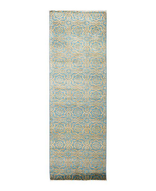 """Timeless Rug Designs CLOSEOUT! One of a Kind OOAK1680 Ivory 2'9"""" x 8'1"""" Runner Rug"""