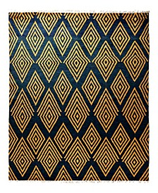 """CLOSEOUT! One of a Kind OOAK1846 Yellow 9'1"""" x 12'4"""" Area Rug"""
