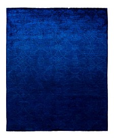 """CLOSEOUT! One of a Kind OOAK1912 Cobalt 6' x 8'9"""" Area Rug"""