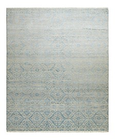 "One of a Kind OOAK2369 Denim 6'1"" x 9'5"" Area Rug"