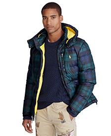 Men's Patterned El Cap Hooded Down Jacket