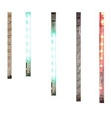 6-Inch 5-Light Multi Snowfall Indoor Light Set