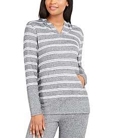 Striped Supersoft Pajama Hoodie, Created For Macy's