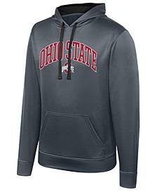 Men's Ohio State Buckeyes Turbine Poly Hooded Sweatshirt