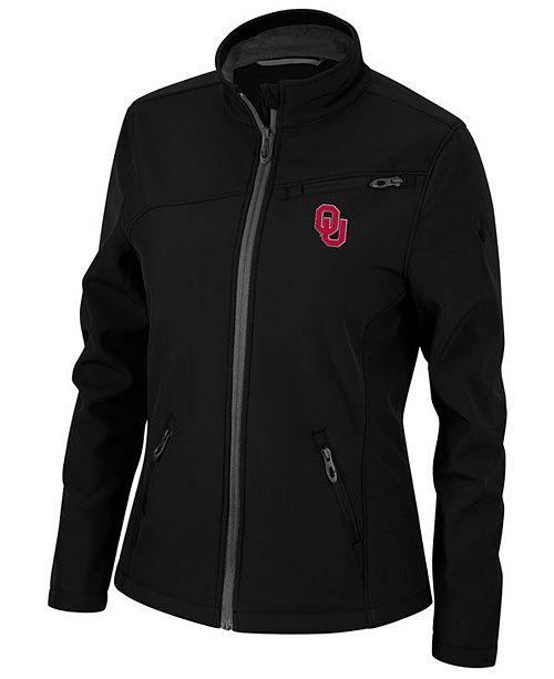 Lids Spyder Women's Oklahoma Sooners Transport Soft Shell Jacket