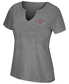Women's Oklahoma Sooners Notch Neck T-Shirt