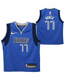 Little Boys Luka Doncic Dallas Mavericks Icon Replica Jersey