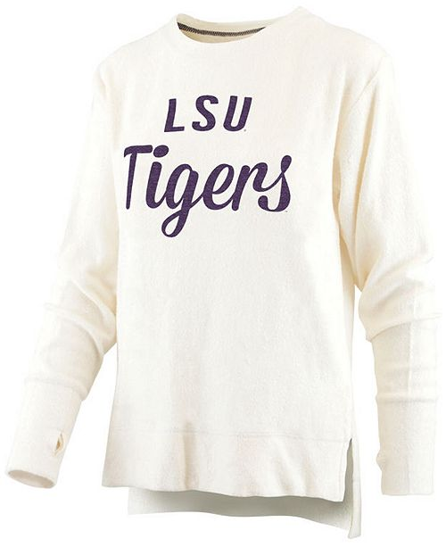 Royce Apparel Inc Women's LSU Tigers Cuddle Knit Sweatshirt