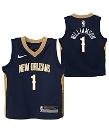 Little Boys Zion Williamson New Orleans Pelicans Icon Replica Jersey