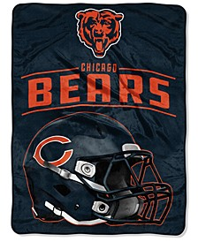 Northwest Company Chicago Bears Micro Raschel Franchise Blanket